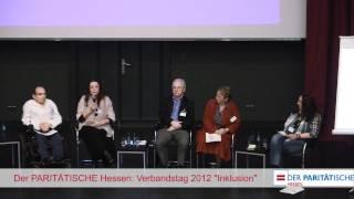 Der Verbandstag 2012 des PARITÄTISCHEN Hessen: