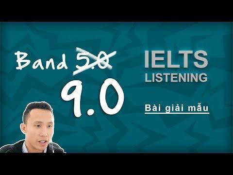 Luyện listening IELTS | Giải mẫu bài IELTS Listening band 9.0