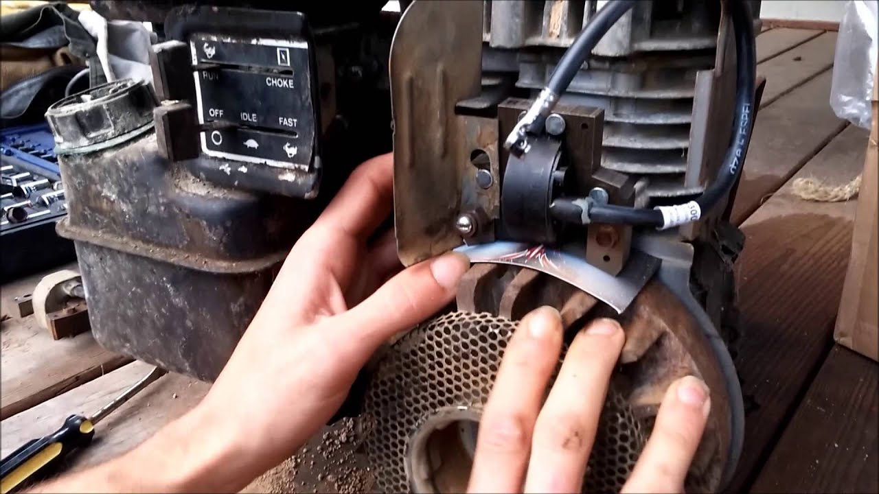 medium resolution of 5hp briggs and stratton flathead coil install