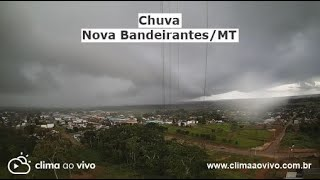 Formação de chuva intensa em Nova Bandeirantes/MT - 15/01/21