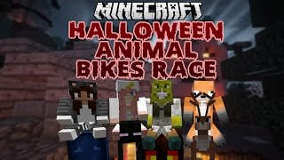 Halloween Animal Bikes Race With LDShadowlady, Yammy & Seapeekay