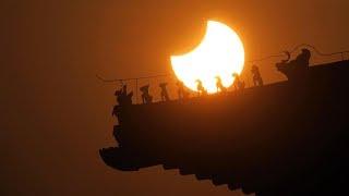 2019's spectacularpartial solar eclipse in Beijing