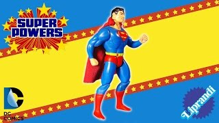KENNER SUPER POWERS COLLECTION - SUPERMAN ACTION FIGURE REVIEW (ita)