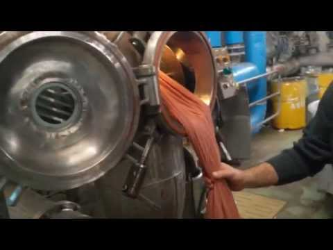 Organic Fabric Dyeing with Natural Dyes in Industrial Scale