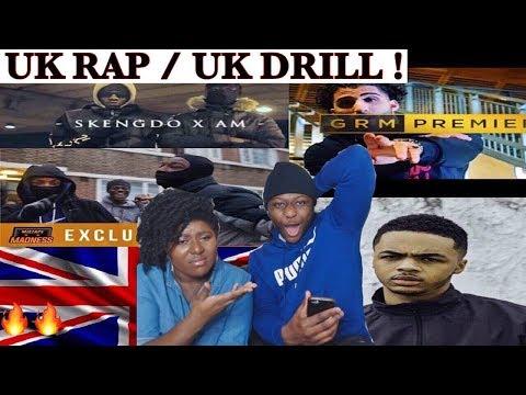 UK RAP/ UK DRILL REACTION | 410, LOSKI, SL, B YOUNG