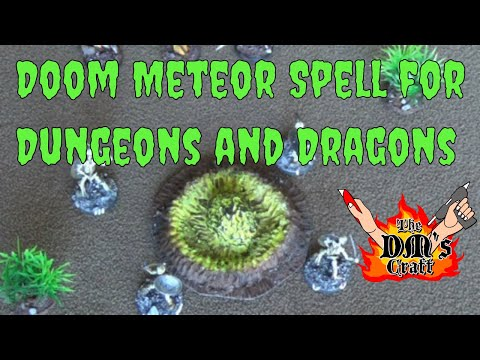 DOOM METEOR Spell for Dungeons and Dragons (The DM's Craft #78)