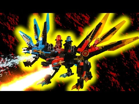 LEGO NINJAGO - RISE OF THE VERMILLION PART 5 - THE FUSION DRAGON