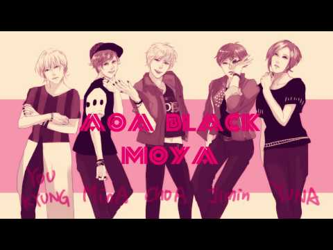【AOA Black】 MOYA male.ver