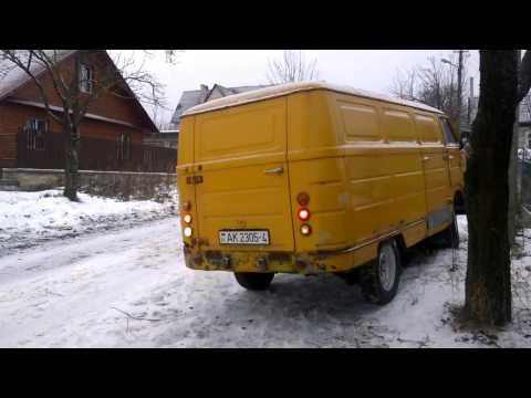 МИРовой блог: ЕрАЗ зимой, первый запуск и тест резины! Тронется или нет?
