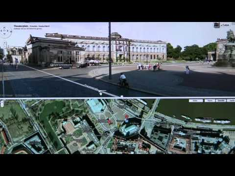 Google Street-View  | Dresden Theaterplatz