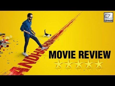 Andhadhun Movie Review Ayushmann Khurrana Radhika Apte Tabu Lehrentv Youtube