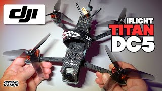 DJI Digital Fpv Quad - iFlight TITAN DC5 - FULL REVIEW & FLIGHTS