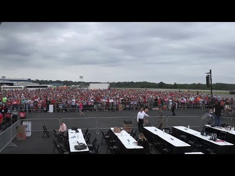 Watch Live President Trump Holds Campaign Rally In Winston Salem Nc 9 8 20 Youtube