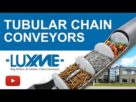 Tubular Drag Conveyors - Tubular Chain Conveyors - Conveying Systems - Material Handling Equipment
