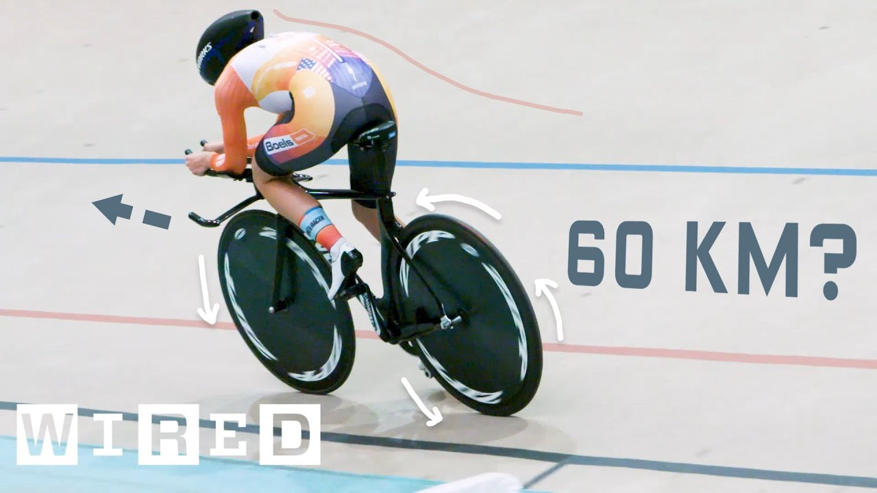 Why It's Almost Impossible to Ride a Bike 60 Kilometers in One Hour | WIRED