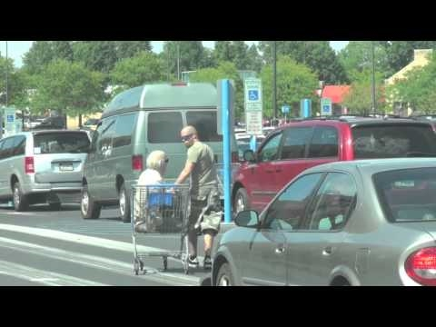 Old Man Shopping Cart