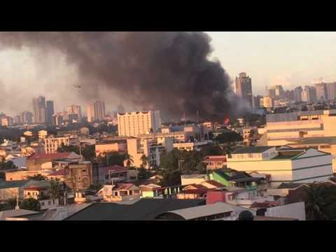 INFERNO!!! The Biggest Fire in the History of Mandaluyong