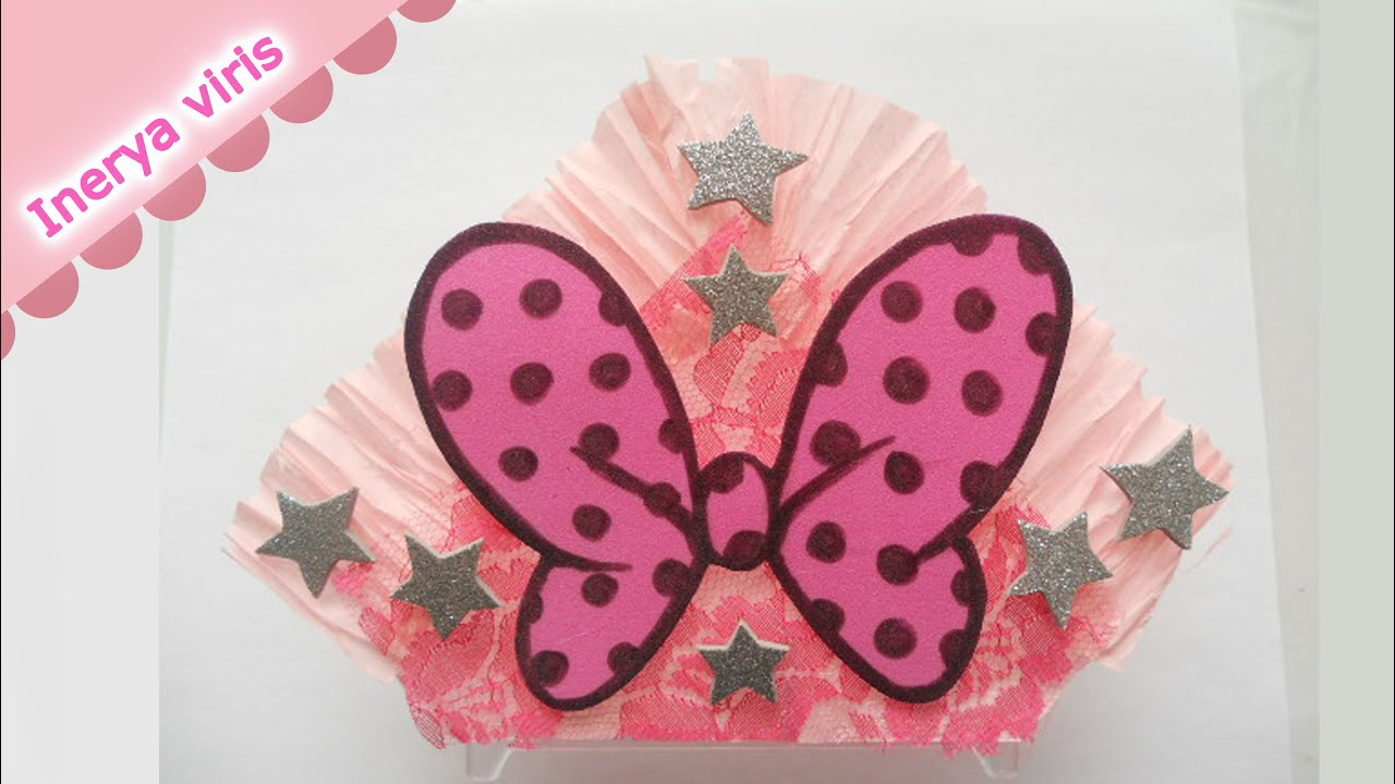 como decorar servilleteros para baby shower mo o minnie mouse