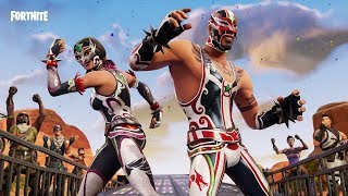 Fortnite new skins,masked fury,dynamo and piledriver axe