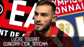 LUCAS TOUSART RÉAGIT APRÈS GUINGAMP - LYON (2-4) / Ligue 1 - 10 novembre 2018