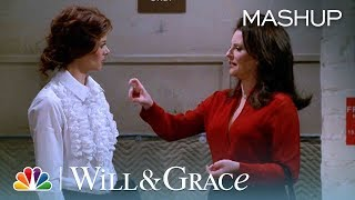 Karen's Most Savage Insults - Will & Grace (Mashup)