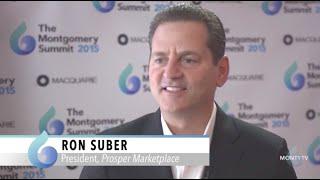 Ron Suber, Prosper, at The Montgomery Summit 2015
