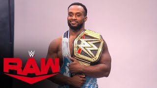 Feel the power of Big E's first WWE Championship photo shoot: Raw Exclusive, Sept. 13, 2021