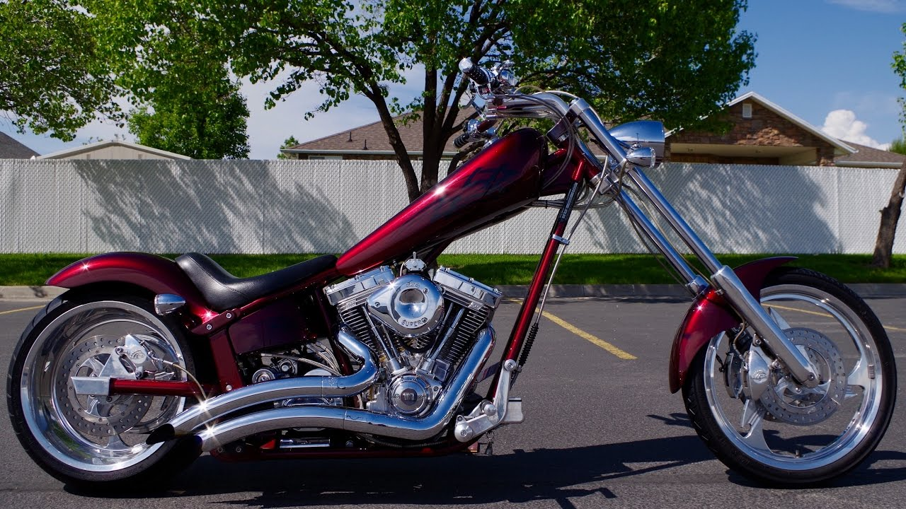 2003 Harley Davidson Wiring Diagram 89 Civic Radio For Sale American Ironhorse Texas Chopper Custom Softail Motorcycle 8,381 Miles! Like Big ...