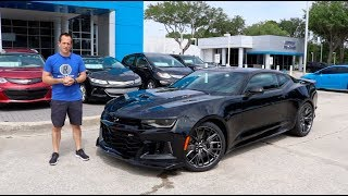 Is the 2019 Chevy Camaro ZL1 the BEST daily driver MUSCLE CAR?