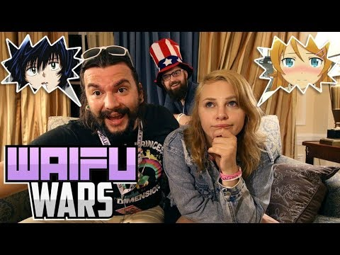 Waifu Wars! KIRINO VS URABE (Ft. Dakota Broskie, BaronJ)