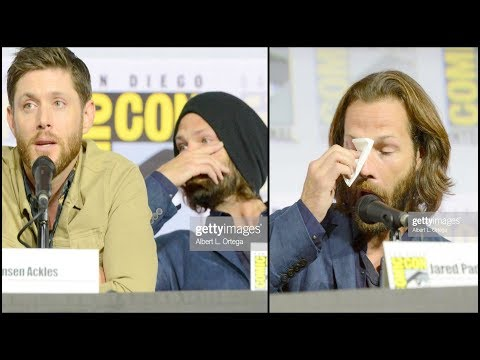 Supernatural Cast Cry Saying Goodbye In Their Final Comic Con Panel