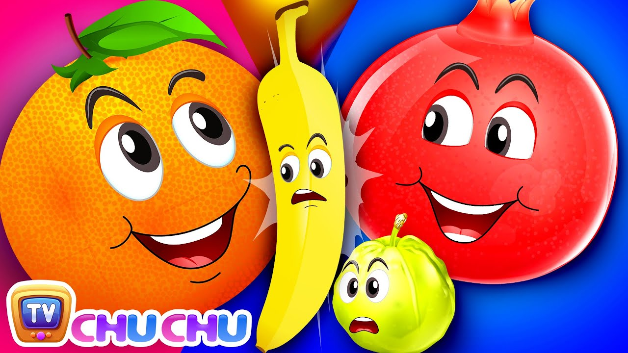The Fruit Friends Song - ChuChu TV Baby Nursery Rhymes and Kids Songs