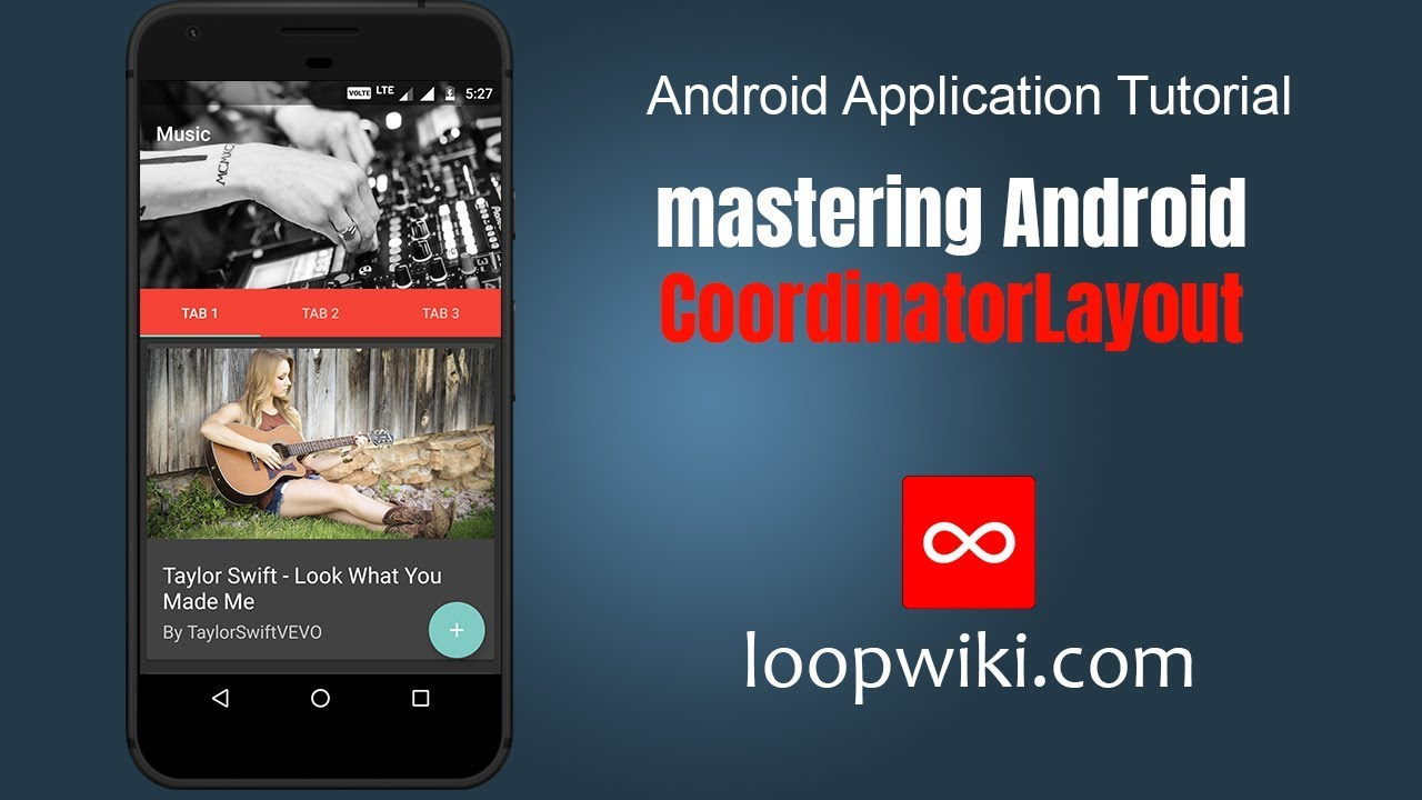 Android CoordinatorLayout Examples - Toolbar, Collapsing Toolbar