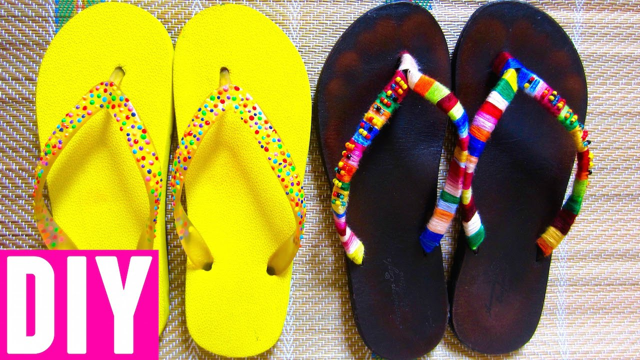 88fc0e6558d DIY Flip-flops  Sprinkles   Tribal