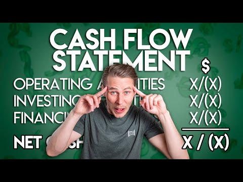 The CASH FLOW STATEMENT for BEGINNERS