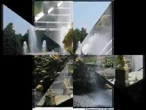Сказочные фонтаны Петергофа