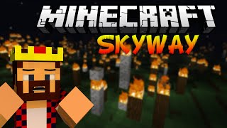 ПОЖАР В ЛЕСУ! - Minecraft Skyway Island Survival 2