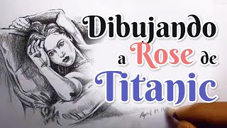 Como dibujar a Rose del Titanic | How to draw Rose Titanic