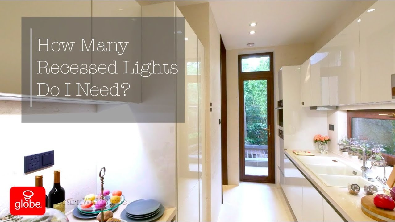How Many Recessed Lights Do You Need In A Room Youtube