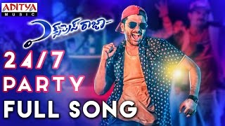 24/7 Party Full Song || Express Raja Songs || Sharwanand, Surabhi, Merlapaka Gandhi