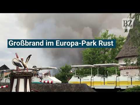 Polizeisprecher über Großbrand: Tausende Besucher waren im im Europa-Park