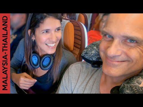 Flight to Bangkok, Thailand from Kuala Lumpur | Travel day vlog