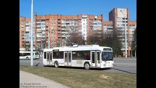 Троллейбус Минска БКМ-32102, борт. 4566,марш.4 22.05.2019