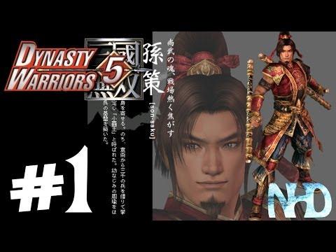 Let's Play Dynasty Warriors 5 Sun Ce (pt1) The Yellow Turban Rebellion