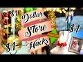 Dollar Store DIY Hacks CHRISTMAS DECOR $1!!!   Belinda Selene