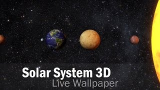 Solar System 3D Free LWP | Live Wallpapers | Android