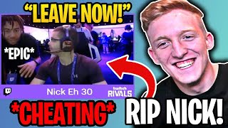 Nick Eh 30 Caught CHEATING in $500k Fortnite Tournament!