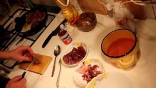 Мясо по-домашнему из лосятины видео
