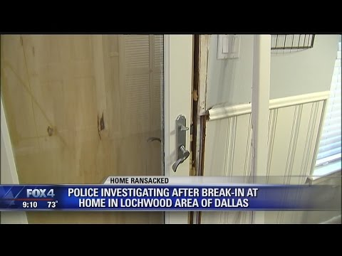 East Dallas Home Ransacked