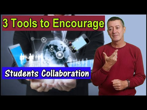 3 Great Tools For Different Levels Of Student Collaboration #onlineteaching